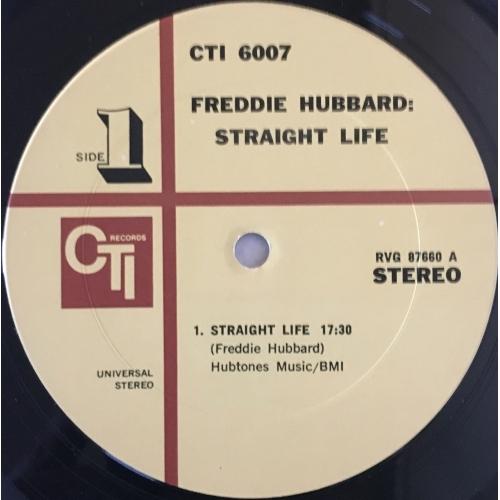 Freddie Hubbard - Straight Life - Vinyl - LP Gatefold