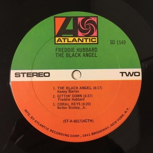 Freddie Hubbard - The Black Angel - Vinyl - LP