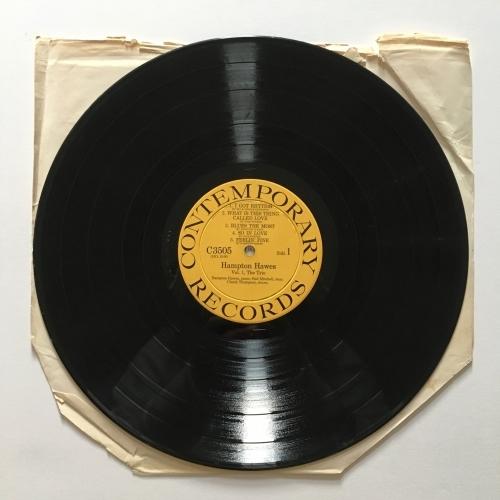 Hampton Hawes - Volume 1: The Trio - Vinyl - LP