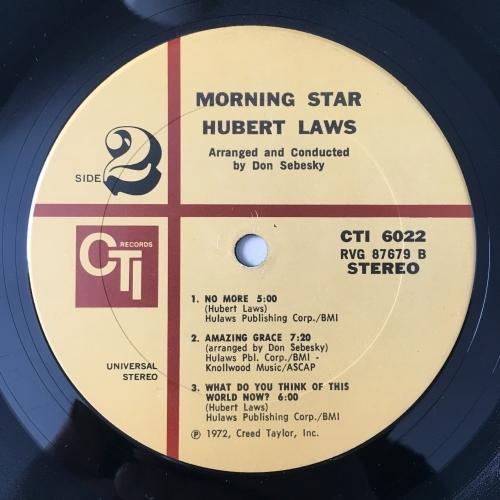 Hurbert Laws - Morning Star - Vinyl - LP Gatefold