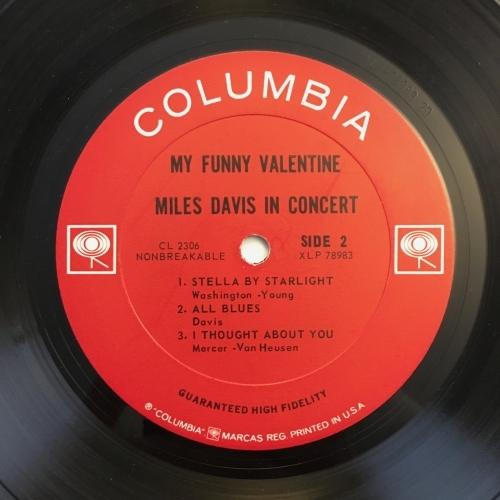 Miles Davis in Concert - My Funny Valentine - Vinyl Record - LP