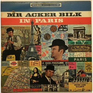 Mr Acker Bilk - In Paris With The Leon Young String Chorale - Vinyl Record - LP