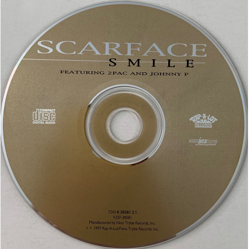 Scarface - Smile Feat. 2Pac & Johnny P (Single) - CD - Single