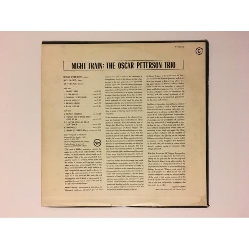 The Oscar Peterson Trio - Night Train - Vinyl - LP