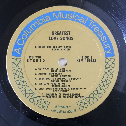 Various - Compilation - Greatest Love Songs Of The Sensational 60's - Vinyl Record - 2 x LP Compilation