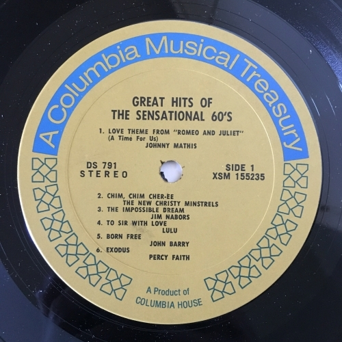 Various - Compilation - Greatest Love Songs Of The Sensational 60's - Vinyl - 2 x LP Compilation