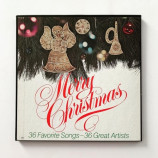Various - Compilation - Merry Christmas - 36 Favorite Songs - 36 Great Artists