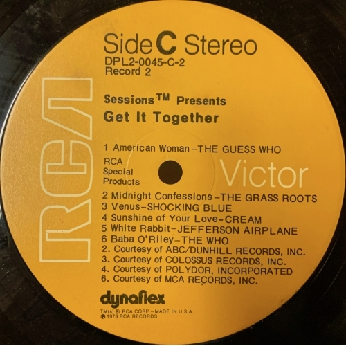 Various - Compilation - Sessions Presents Get It Together! - Vinyl Record - 2 x LP Compilation