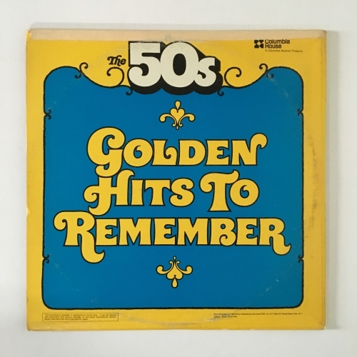 Various - Compilation - The '50s Greatest Love Songs/Golden Hits To Remember Them By - Vinyl - 2 x LP Compilation