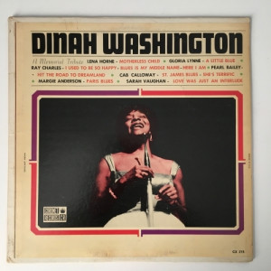 Various - Dinah Washington: A Memorial Tribute - Vinyl - LP