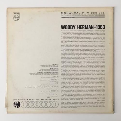 Woody Herman - 1963 - Vinyl - LP
