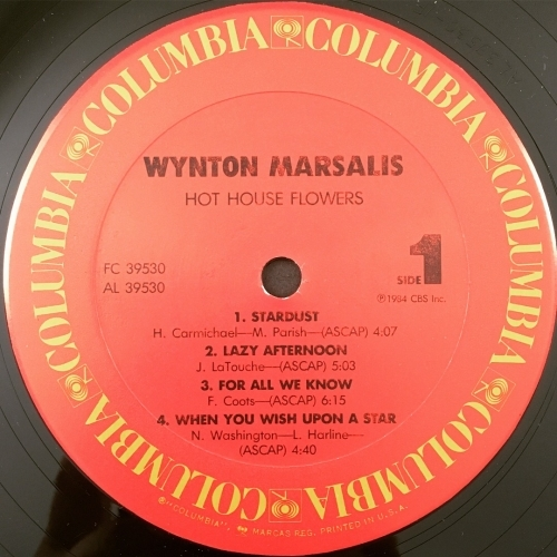 Wynton Marsalis - Hot House Flowers - Vinyl - LP