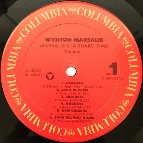 Wynton Marsalis - Marsalis Standard Time | Vol. 1 - Vinyl - LP