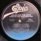 Adam And The Ants - Kings Of The Wild Frontier - LP, Album