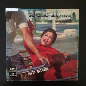 """Anita Sarawak Singapore 7ep emi  - 70s Malaysia jazz music  - Vinyl Record - 7"""""""