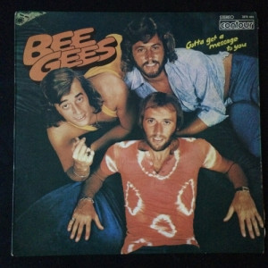 "Bee Gees – Gotta Get A Message To You -  Soft Rock, Ballad  1974 - Vinyl - 12"""
