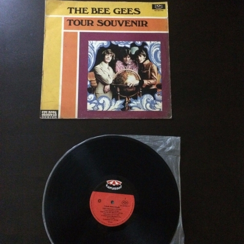 Bee Gees ‎– Tour Souvenir - pop 1969 rare SINGAPORE ONLY  - Vinyl - 7""