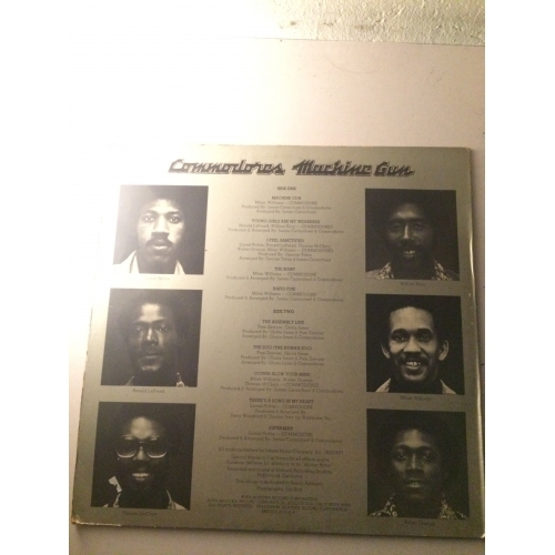Commodores ‎– Machine Gun -  Soul, Funk 1974 - Vinyl Record - 12""