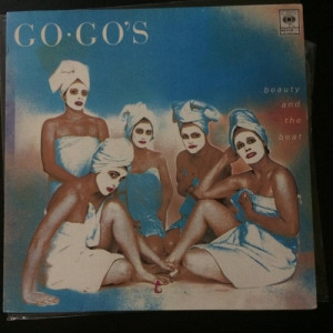 Go-Go's ‎– Beauty And The Beat  - SUPER RARE Malaysia press - Vinyl Record - 12""