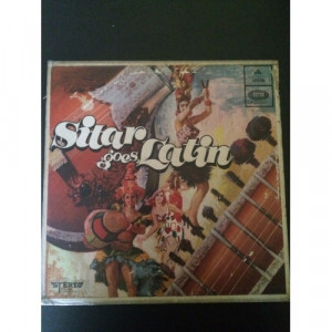 Jayram Acharya, Enoch Daniels ‎– Sitar Goes Latin -  Jazz, Rock, Folk, World, & Country  1968 - Vinyl Record - LP
