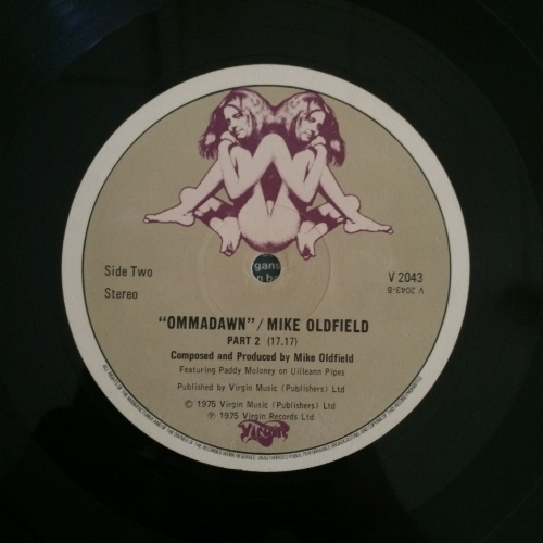 Mike Oldfield ‎– Ommadawn uk1st press  -  Virgin ‎– V 2043  Prog Rock, Experimental - Vinyl Record - 12""