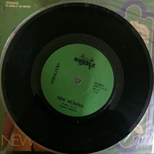 The Strollers ‎– New Woman - Nestlé ‎– UHT-5-4-72 - Vinyl Record - 12""