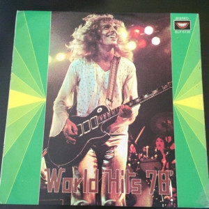 "TOP HITS MALAYSIA PRESS (world hits 1978 )  - UNOFFICIAL PRESS MALAYSIA 70s  - Vinyl - 12"""