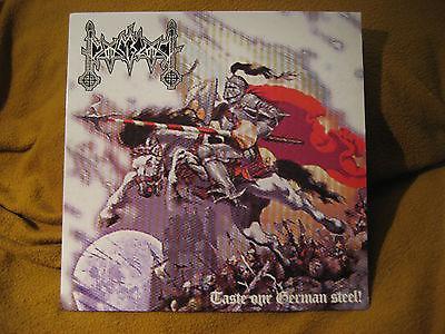 black metal vinyl