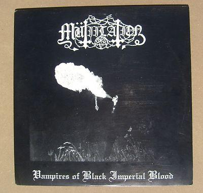 Rare black metal vinyl