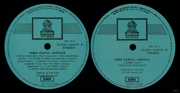 The story behind the 12000$ Pink Floyd rare Meddle LP
